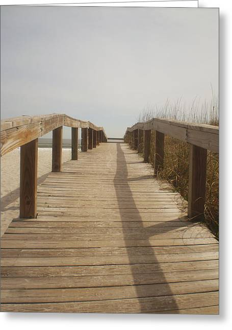 Boardwalk Greeting Card by Utopia Concepts
