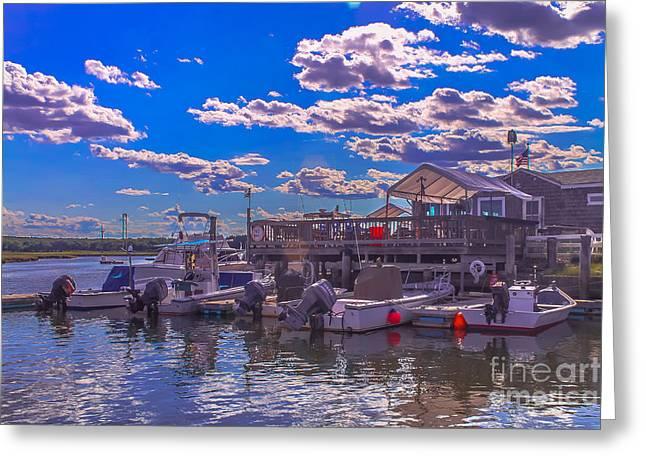 Boat Club In Hampton Greeting Card