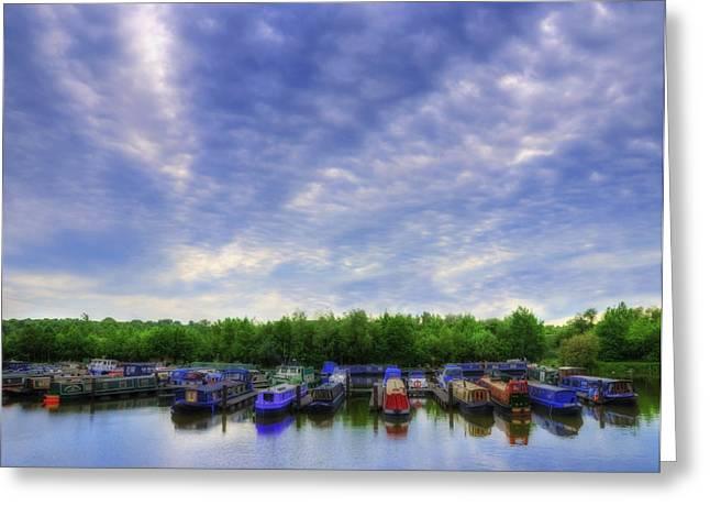 Boat Life Greeting Card by Svetlana Sewell
