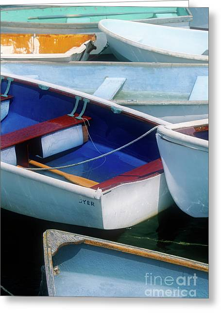 Boat Lot Greeting Card