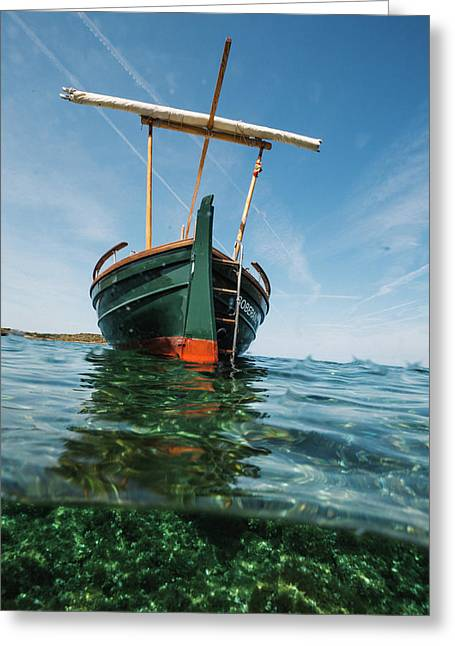 Boat Vi Greeting Card