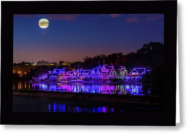 Boathouse Row Greeting Card by Marvin Spates