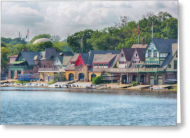 Boathouse Row Greeting Card