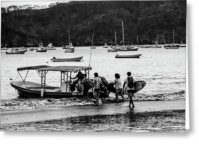 Boats And Boards  Greeting Card