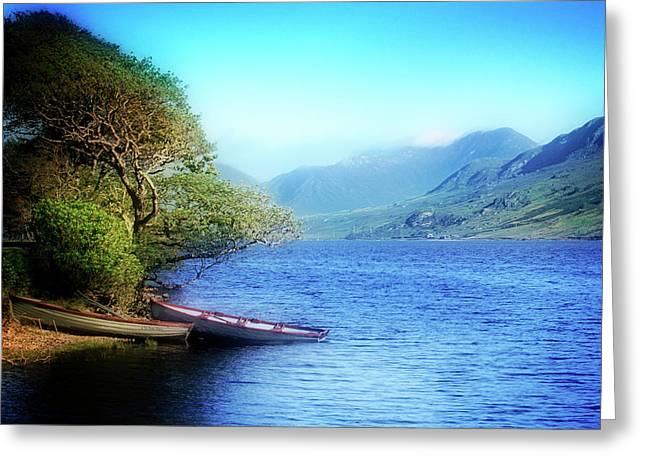 Greeting Card featuring the photograph Boats At Rest by Scott Kemper