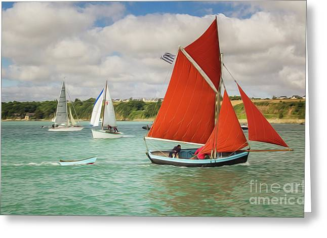 Boatshow Greeting Card