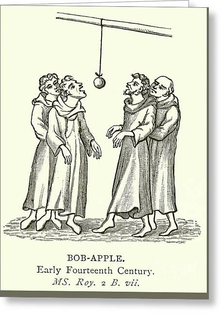 Bob Apple Greeting Card