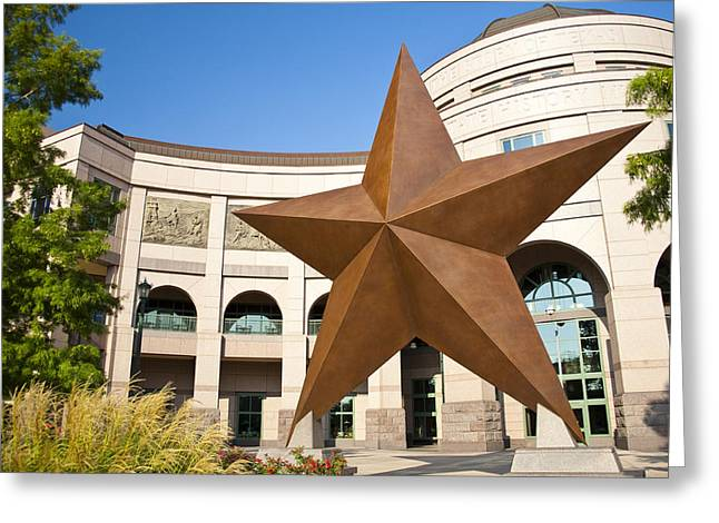 Austin Architecture Greeting Cards - Bob Bullock Texas History Museum Greeting Card by Mark Weaver