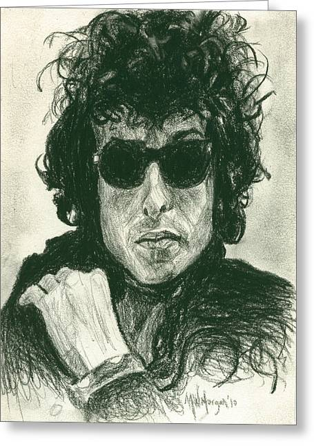 Bob Dylan 1 Greeting Card