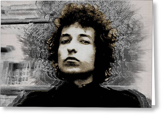 Bob Dylan 4 Greeting Card