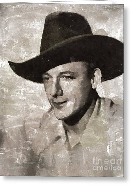 Bob Nolan, Western Actor Greeting Card