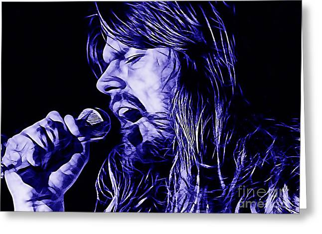 Bob Seger Collection Greeting Card by Marvin Blaine