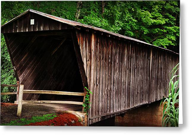 Bob White Bridge Greeting Card