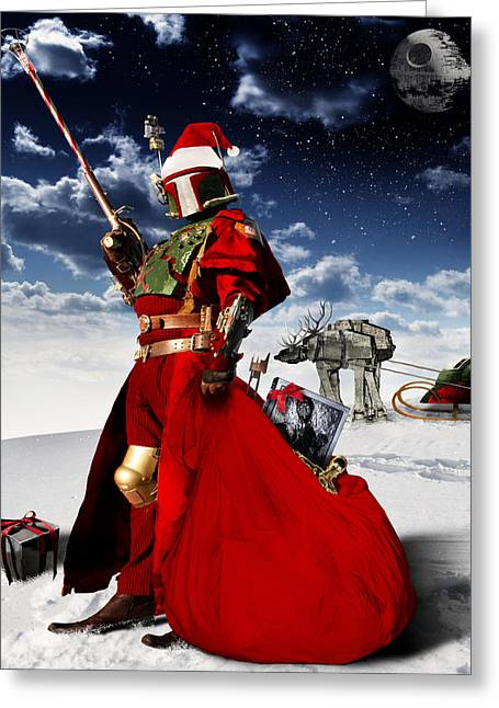 Boba Claus Greeting Card
