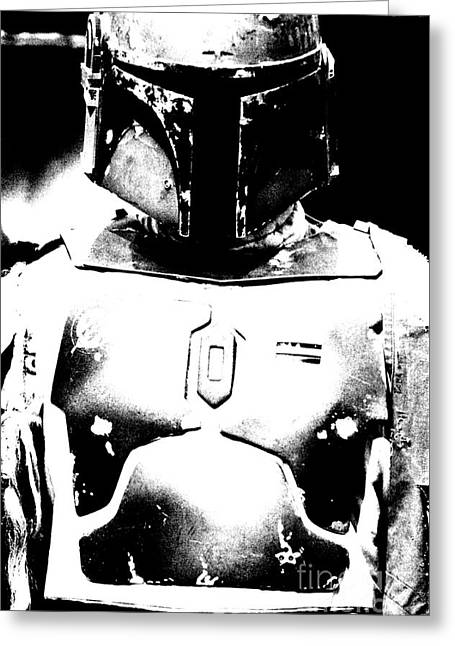 Boba Fett Costume 35 Greeting Card