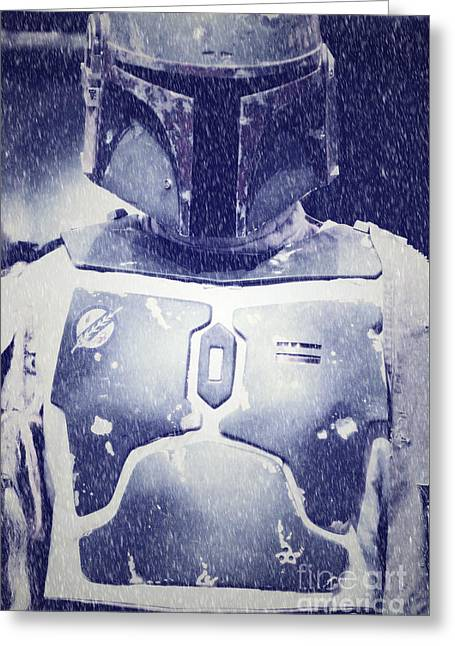 Boba Fett Costume 36 Greeting Card