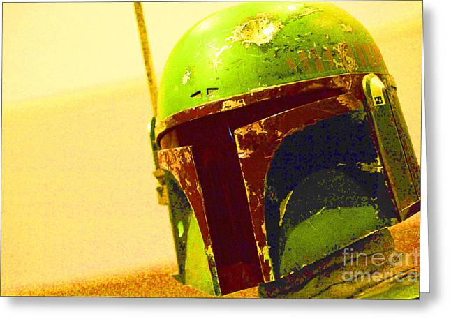 Boba Fett Costume 37 Greeting Card by Micah May