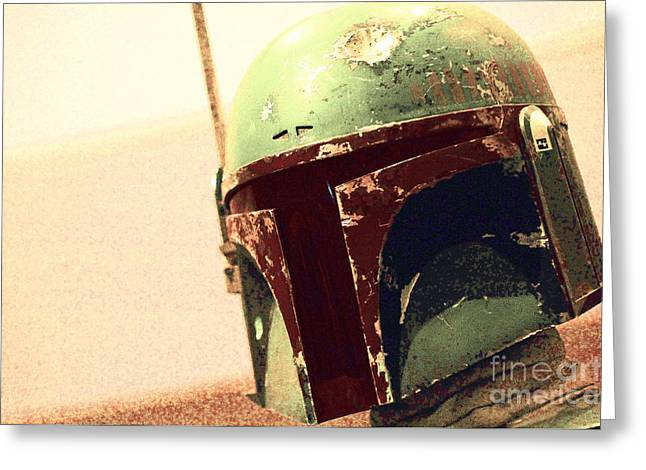 Boba Fett Costume 38 Greeting Card
