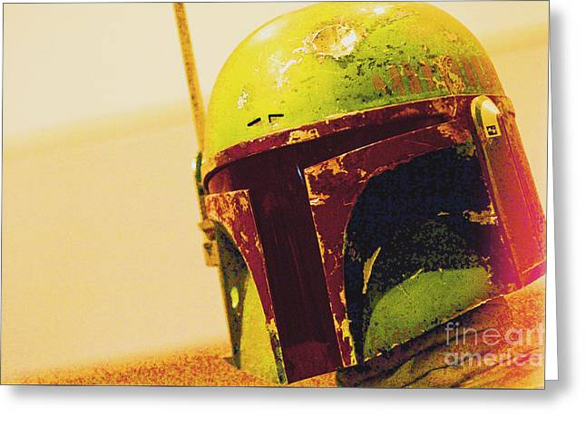 Boba Fett Costume 40 Greeting Card