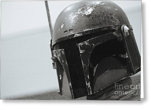 Boba Fett Costume 41 Greeting Card
