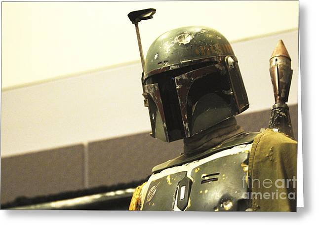 Boba Fett Costume 42 Greeting Card