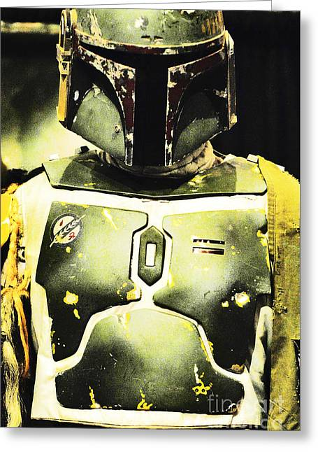 Boba Fett Helmet 31 Greeting Card
