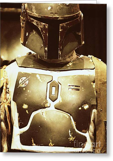 Boba Fett Helmet 34 Greeting Card