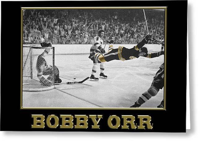 Bobby Orr 6 Greeting Card