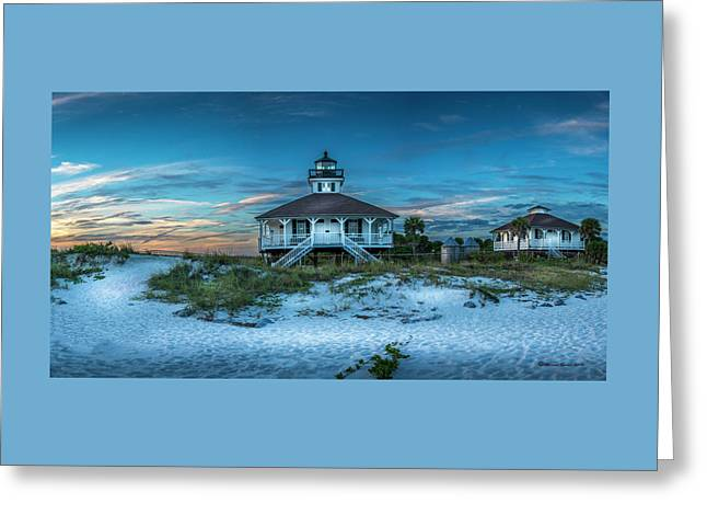 Boca Grande Lighthouse Greeting Card by Marvin Spates