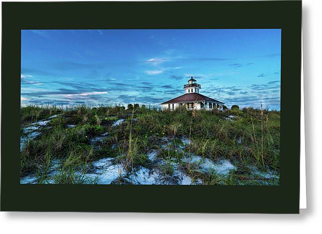 Boca Lighthouse Greeting Card