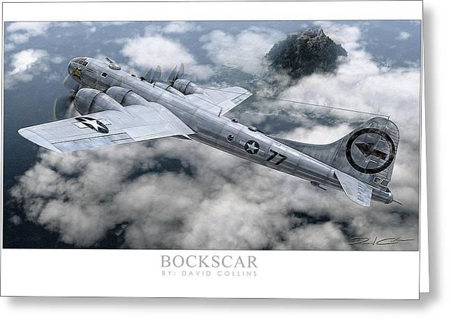 Bockscar  Greeting Card by David Collins