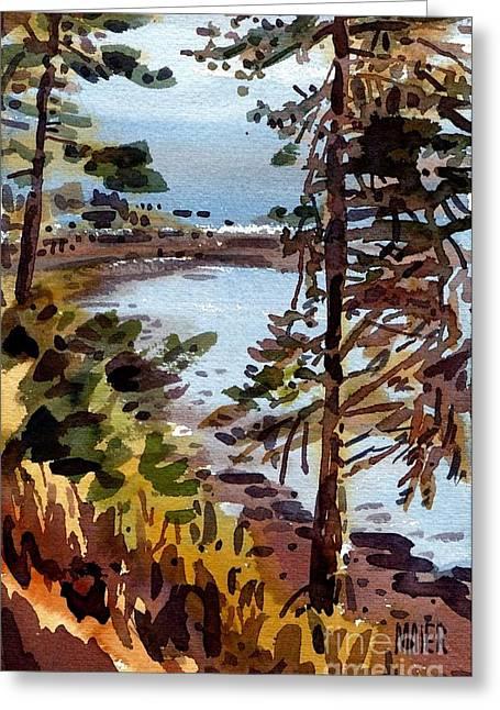 Bodega Bay Greeting Card by Donald Maier