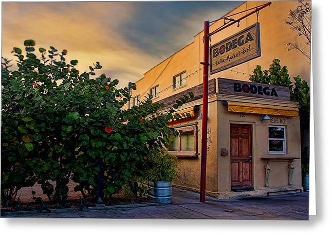 Bodega Greeting Card by Glenn Gemmell