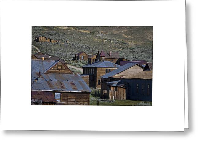 Greeting Card featuring the photograph Bodie 31 by Catherine Sobredo