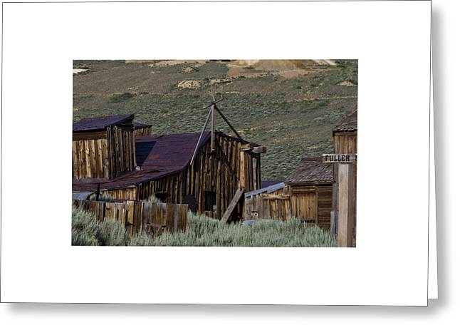 Greeting Card featuring the photograph Bodie 33 by Catherine Sobredo