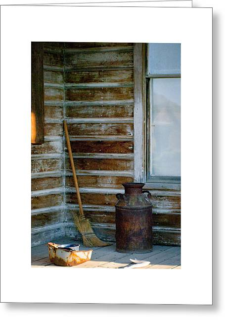 Greeting Card featuring the photograph Bodie 41 by Catherine Sobredo