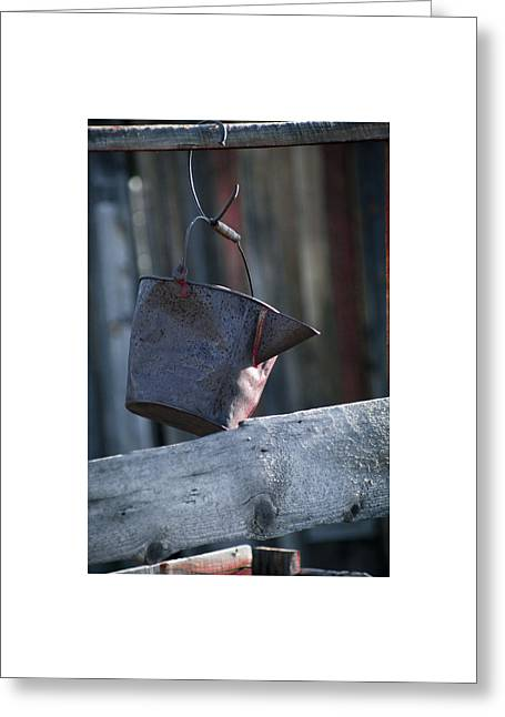 Greeting Card featuring the photograph Bodie 42 by Catherine Sobredo