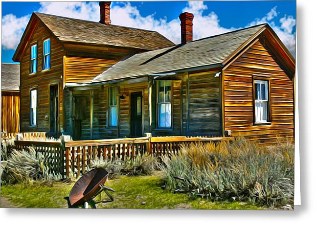Bodie House Stylized Greeting Card
