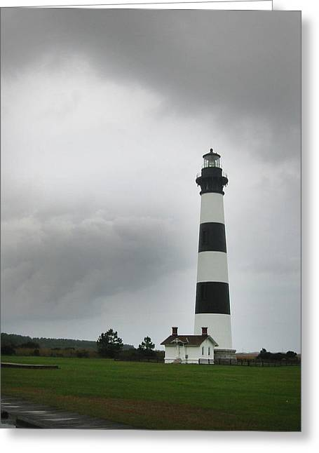 Bodie Island Light Nags Head  Greeting Card by Richard Singleton