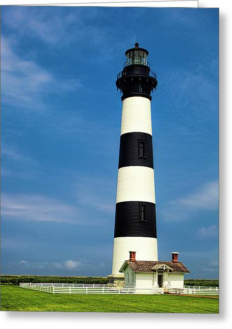 Bodie Island Lighthouse Greeting Card by Andrew Soundarajan