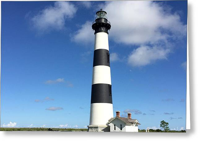 Bodie Island Lighthouse Cape Hatteras Greeting Card