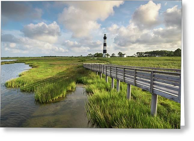 Bodie Island Lighthouse North Carolina Greeting Card by Mark VanDyke