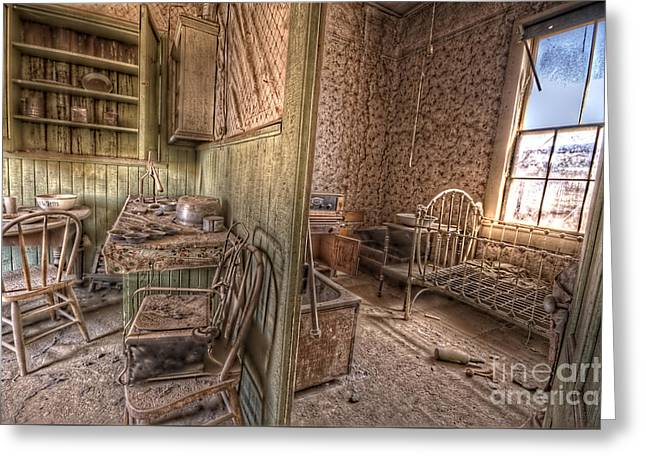 Bodie Kitchen/bedroom Greeting Card by Rich Governali