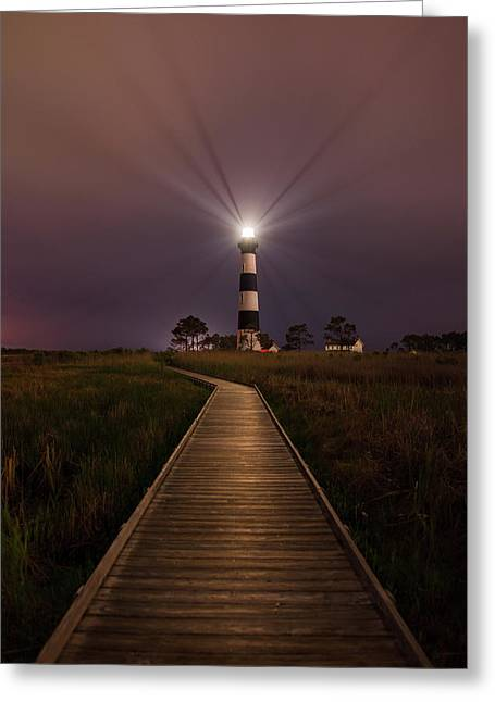 Bodie Lighthouse  Greeting Card