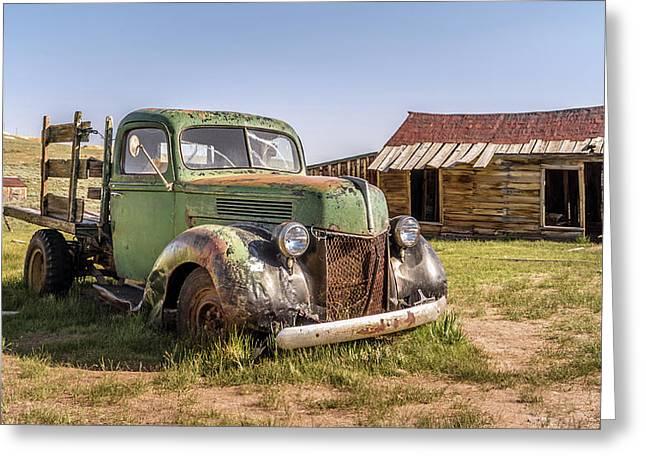 Bodie Pickup Truck Greeting Card