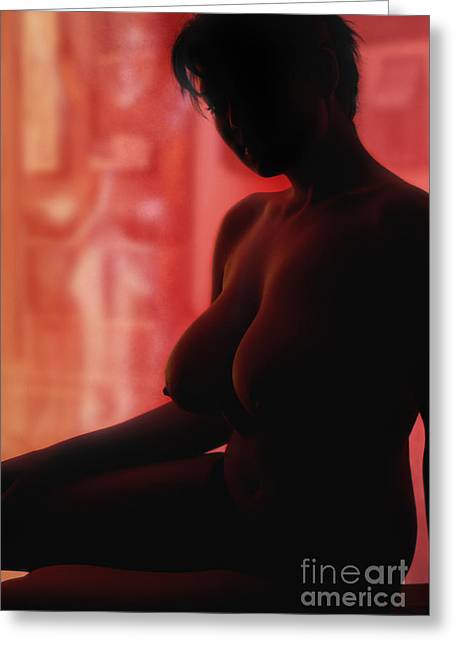 Bodies In Light Greeting Card by Exposed Arts