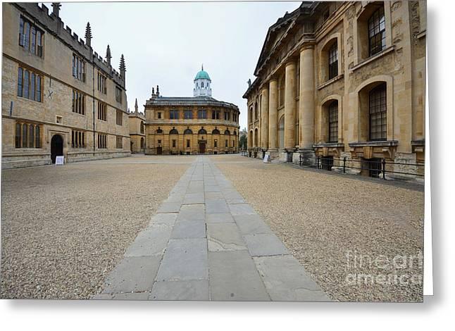 Bodleian Library Greeting Card by Nichola Denny