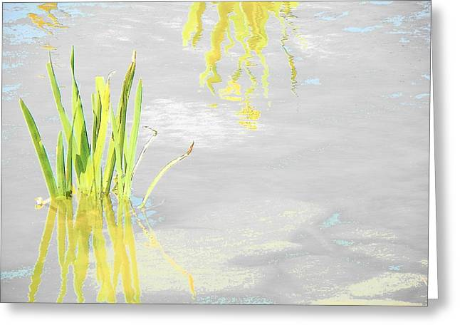 Body Of Water Greeting Card by Lenore Senior