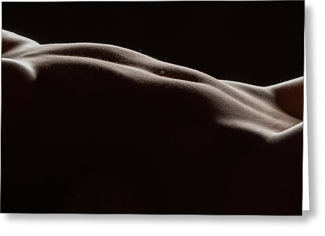 Bodyscape 254 Greeting Card