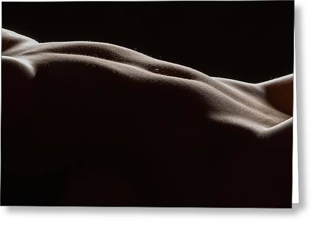 Bodyscape 254 Greeting Card by Michael Fryd